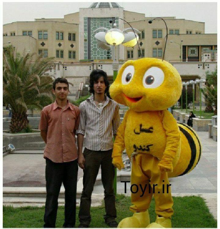 عروسک تنپوش زنبور عسل
